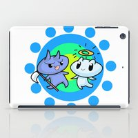 friendship iPad Cases featuring friendship by artbymeng