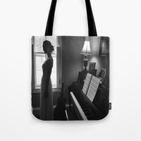 princess bride Tote Bags featuring Lonely by Jamie Berg