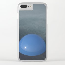 Blue palette Clear iPhone Case