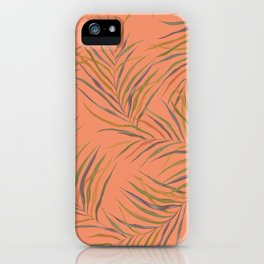 PeachPalms iPhone Case