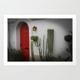 L'Hacienda à Montreal ou le Mexique  Art Print
