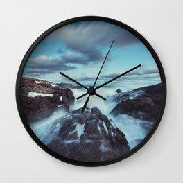 Deceptive Calm Wall Clock