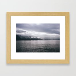 Kenai Fjords, Alaska Framed Art Print