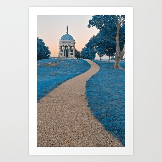 Antietam Sapphire Twilight Art Print