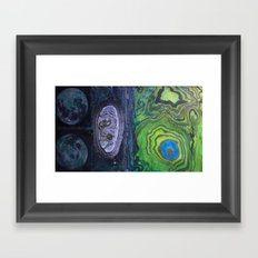 Fossilized Future  Framed Art Print