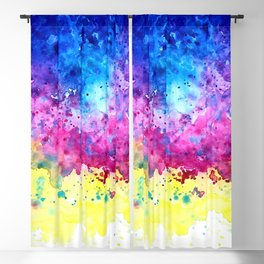 Splatter Blackout Curtain