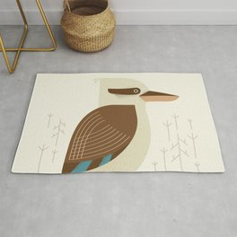 Laughing Kookaburra, Bird of Australia Rug