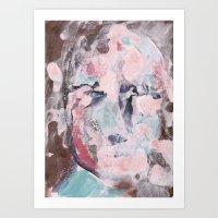 New Face 26 Art Print