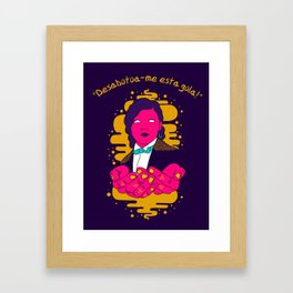 Pagu Framed Art Print