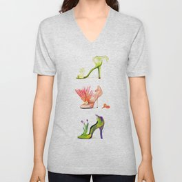 Fantasy Shoes Unisex V-Neck