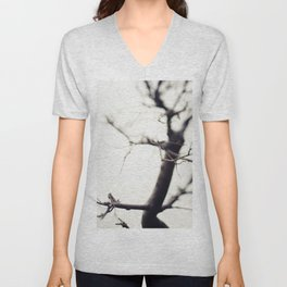 Small Tree Unisex V-Neck