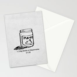 Mayonnaise Stationery Cards