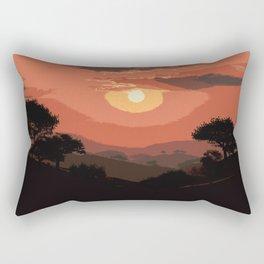 Valley of Sun Rectangular Pillow