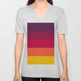 California Sunset - Favourite Palettes Series Unisex V-Neck