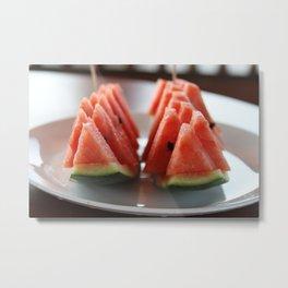 Watermelon II Metal Print