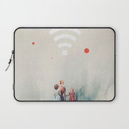 Wirelessly connected to Eternity Laptop Sleeve