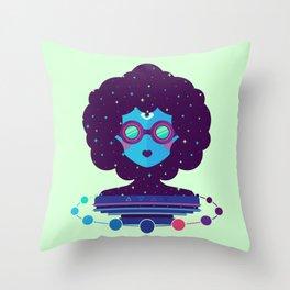 Ethereal Mistress Throw Pillow