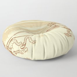 Cowbird Floor Pillow