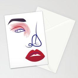 Eye of a Girl Stationery Cards