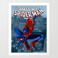 Amazing Spider-Man (Comic Title) Art Print