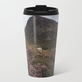 The moorland house - Landscape and Nature Photography Travel Mug