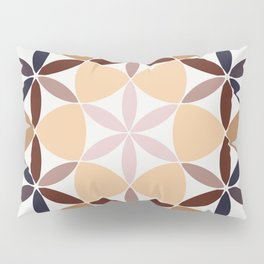 Flower of life - colored Pillow Sham