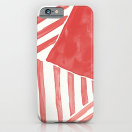 Summer lines iPhone Case
