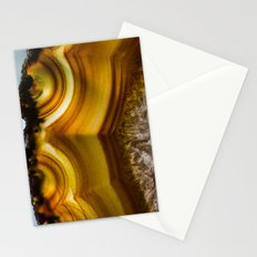 Amber Agate Edges Stationery Cards