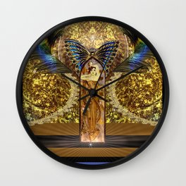 LADY MAKEBELIEVE Wall Clock