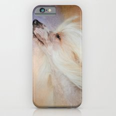 Wind In Her Hair - Chinese Crested Hairless Dog Slim Case iPhone 6
