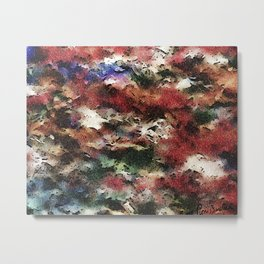Abstract: Revisited, Version#2 Metal Print