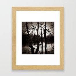 Lingering Framed Art Print