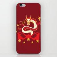 pacific rim iPhone & iPod Skins featuring Pacific Rim: Crimson Typhoon by MNM Studios
