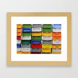 Cratestack Framed Art Print