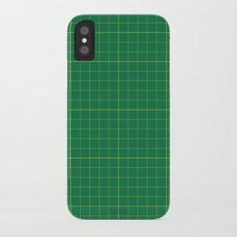 Cut here iPhone Case