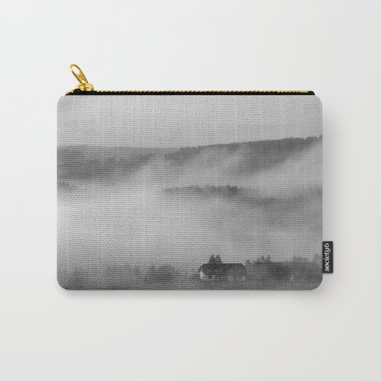 Landscape with fog Carry-All Pouch