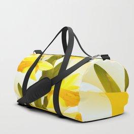 Spring Yellow Flowers #decor #society6 #buyart Duffle Bag