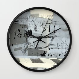 misprint 37 Wall Clock