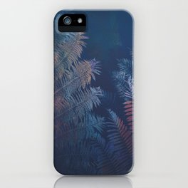 Abstract Fern iPhone Case