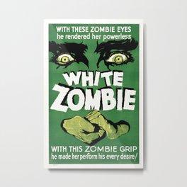 Vintage poster - White Zombie Metal Print