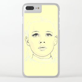 Dorothy - The Yellow Pathway Clear iPhone Case