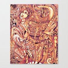 Pythia in a Frenzy Canvas Print