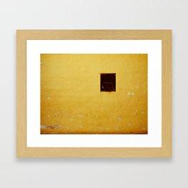Window. Framed Art Print