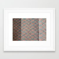 runner Framed Art Prints featuring Runner by September20