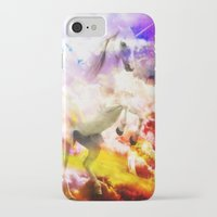 unicorn iPhone & iPod Cases featuring Unicorn  by haroulita