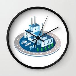Big city Wall Clock