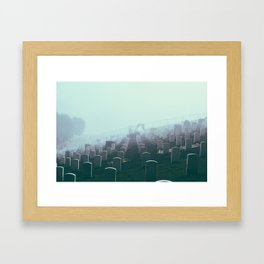 Foggy Presidio Framed Art Print
