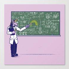 Unicorn Field Theory Canvas Print