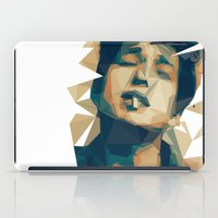 bob dylan iPad Cases featuring Bob Dylan by Stephanie Keir