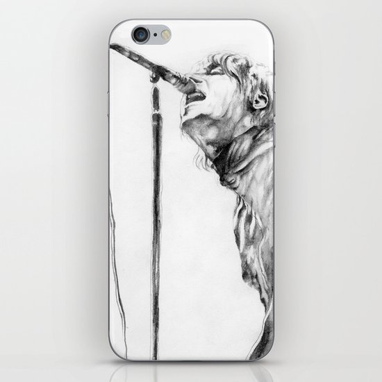 Live forever iPhone & iPod Skin